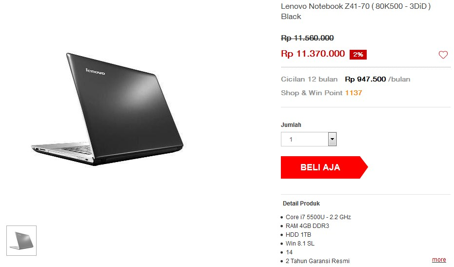 distributor laptop gaming Indonesia